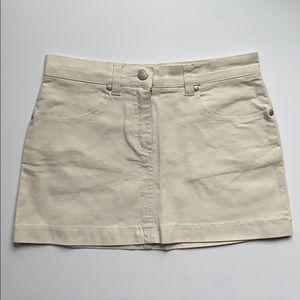 Juniors Khaki Mini Skirt, NWOT